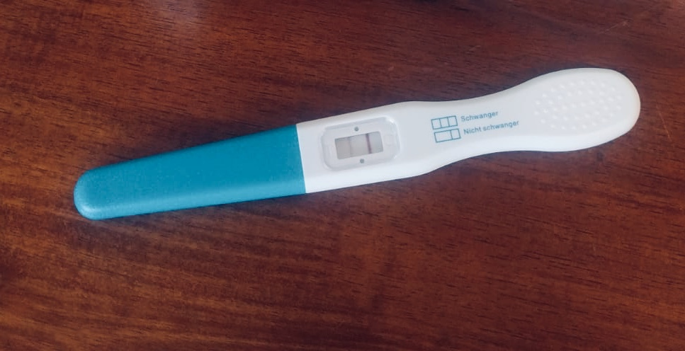 Schwanger aber positiver schwangerschaftstest nicht Hcg positiv